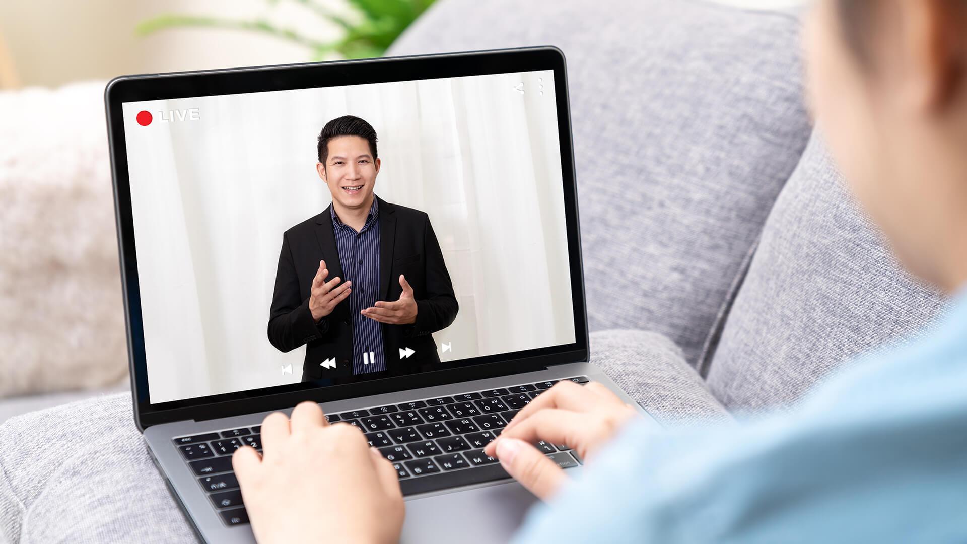 Ist der Keynote Speaker der Zukunft digital?