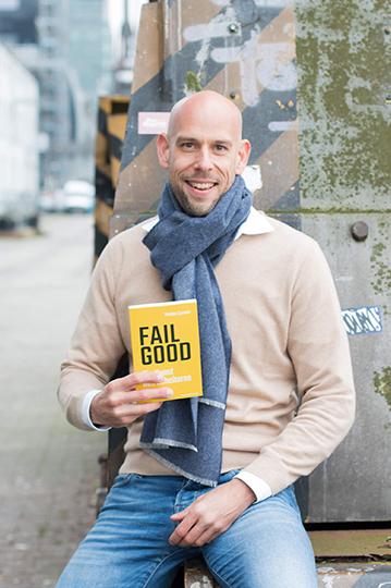 Markus Czerner mit seinem neuen Buch FAIL GOOD - Die Kunst des Scheiterns