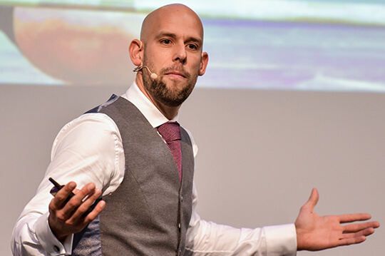 Keynote Speaker Markus Czerner bietet seinen Kunden auch individuelle Keyotes an