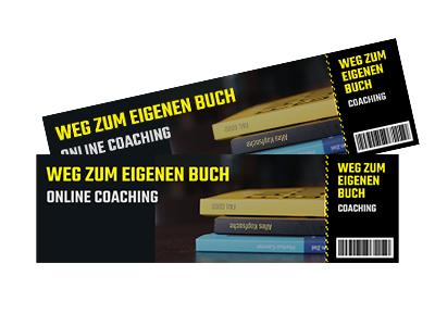 Weg zum eigenen Buch - Online Coaching