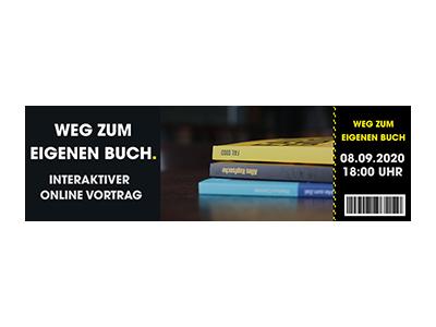 Interaktiver Vortrag: Weg zum eigenen Buch