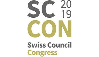 Markus als Redner auf dem Swiss Council 2019