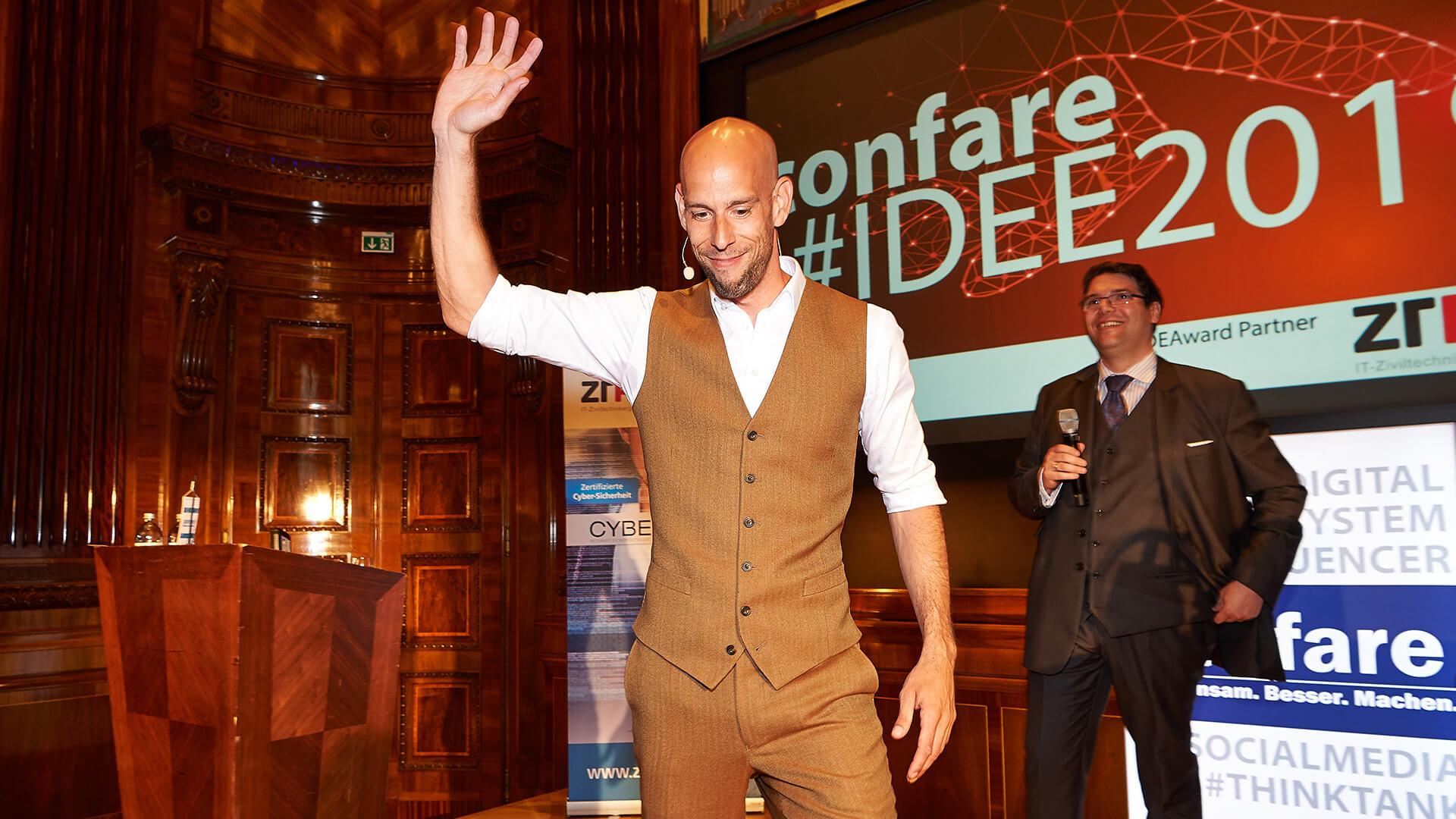 Keynote Speaker Markus Czerner bei der Idee 2019 in Wien