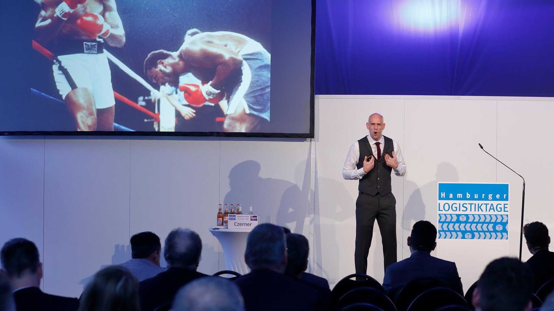 Markus mit seiner Keynote