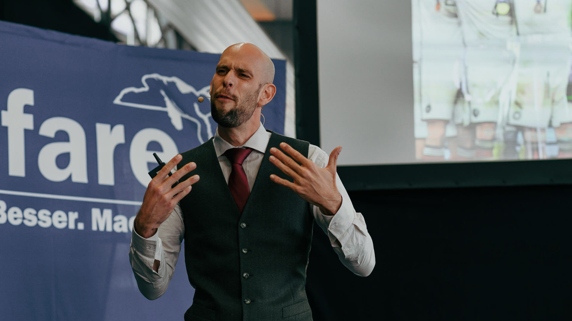 Keynote Speaker Markus Czerner - ausdrucksstark und interaktiv