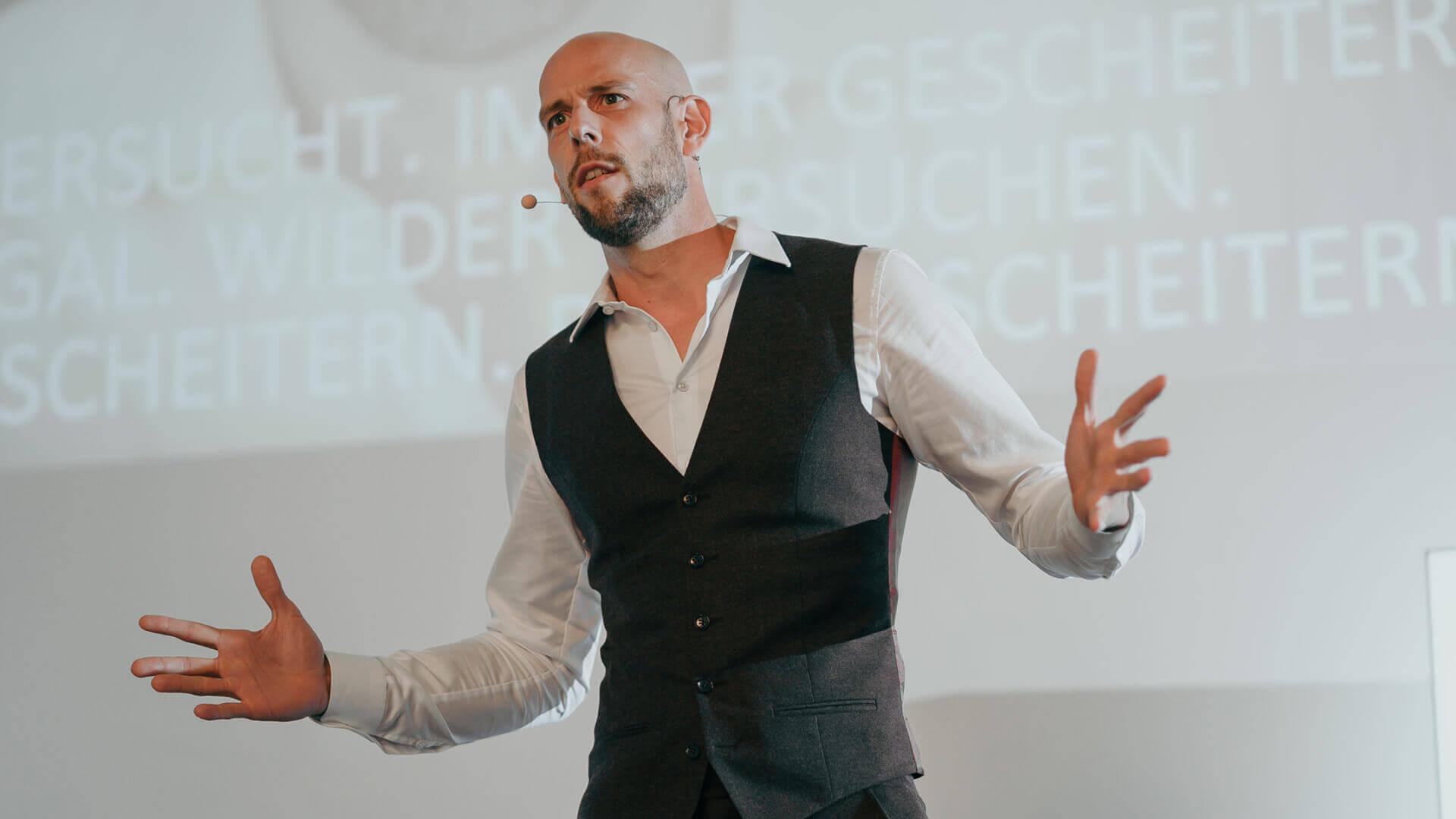 Markus Czerner zählt zu einem der authentischsten Redner im deutschsprachigen Raum