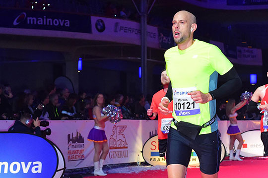 Markus Czerner beim Mainova Frankfurt Marathon 2019