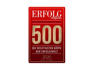 Markus Czerner zählt zu den 500 wichtigsten Köpfen der Erfolgswelt